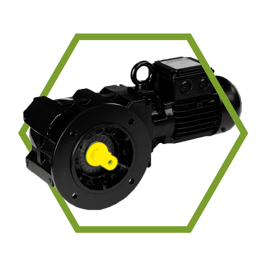 Submersible Bevel Geared Motor BK Series