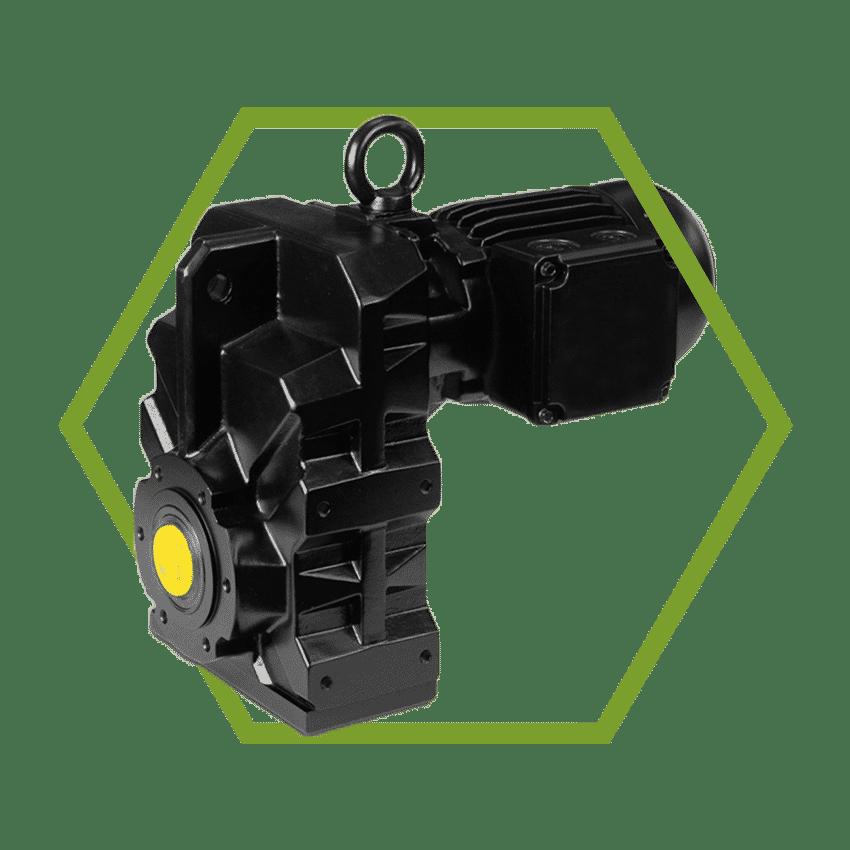 IP68 shaft mounted