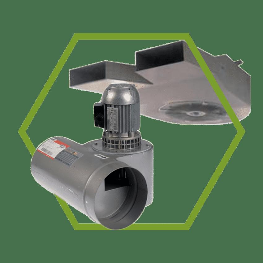 Rookgasventilatoren & Ventilatie voor Parkeergarages